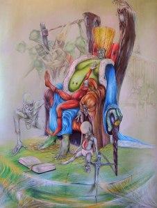 Macocha dziejów.karton 87x60.tech.własna