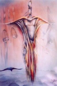 Piotr Stempka-Alchemik.karton 80x67